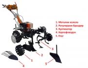 Мотоблок 1100-PROFI