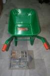 Строителна количка - зелена